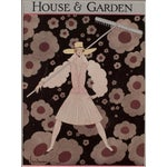 Image of 1927 House & Garden Print by Georges Lepage
