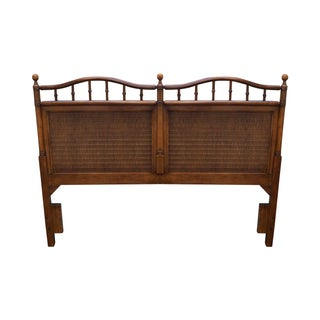 Faux Bamboo Rattan Queen or Full Size Headboard
