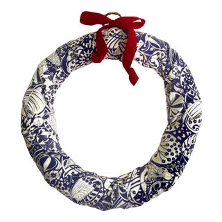 Liberty Print Holiday Wreath