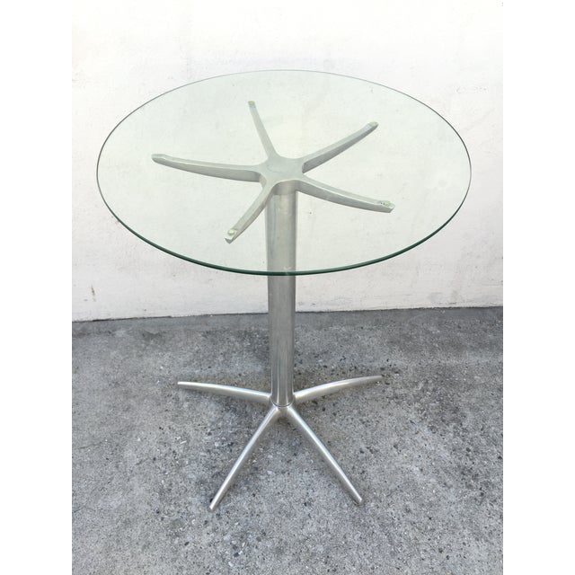 Image of Mid Century Aluminum Bar Table