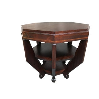 French Art Deco Octagonal Table