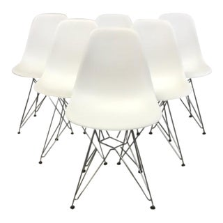 Eames Molded Dining Chairs - Set of 6