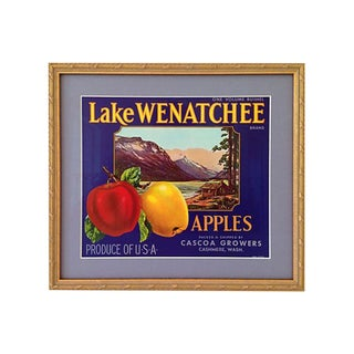 1940s Apples Crate Label