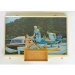 Image of Anheuser-Busch Light Up Boating Sign
