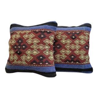 Kilim Rug Pillow Covers - A Pair