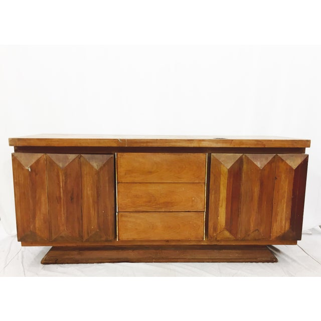 Mid-Century Modern Brutalist Kagan Style Dresser - Image 2 of 11