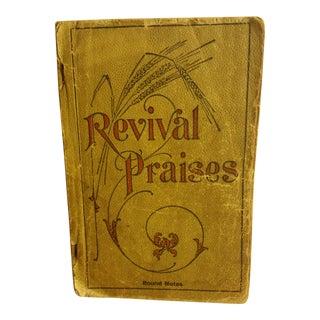Antique Revival Praises Book
