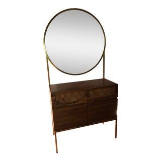 CB2 Memento Mirror Cabinet