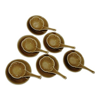 Japanese Amuse Bouche Plum Flower Spoons- Set of 6