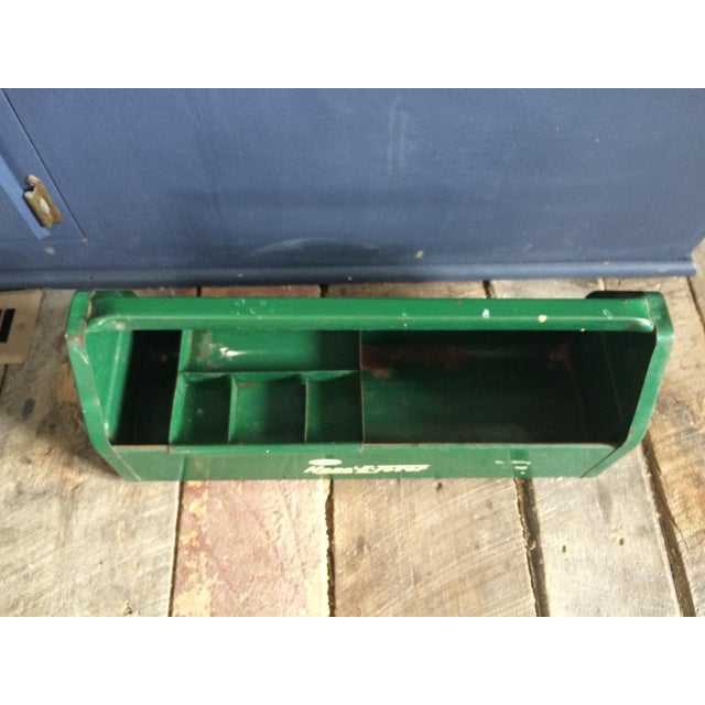 Rustic Green Tool Caddy - Image 3 of 4