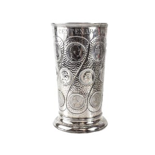 J. Wagner & Sohn 800 German Silver Vase