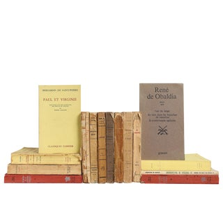 Heavily Distressed French Language Paperbacks, S/15