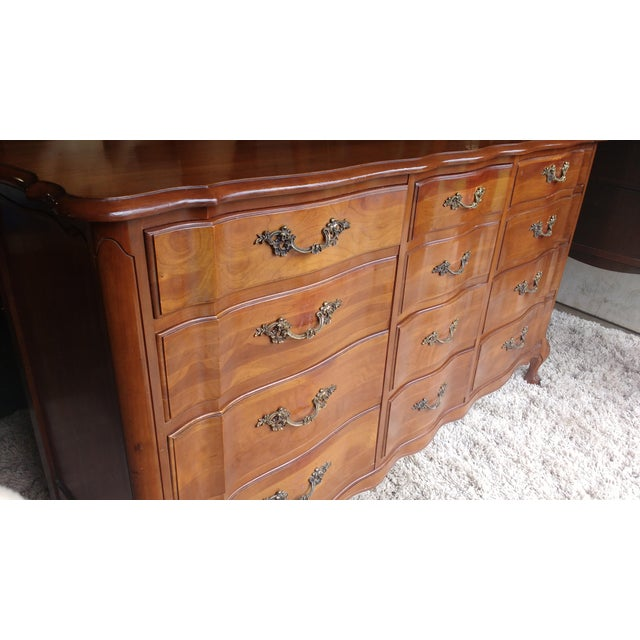 Image of Cherrywood French Provicial Chest of Drawers