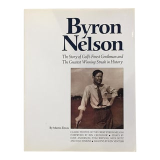Byron Nelson Golf Coffee Table Book
