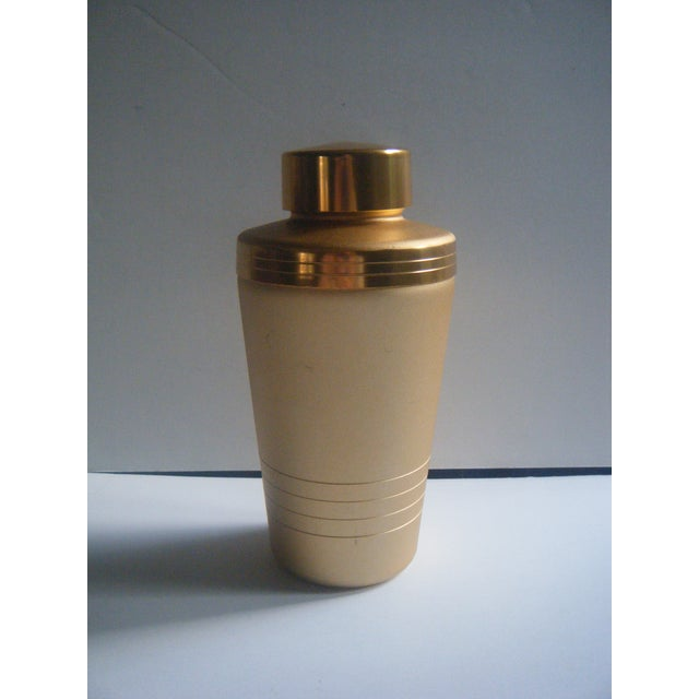 Mirro Mid-Century Gold Cocktail Shaker - Image 2 of 5