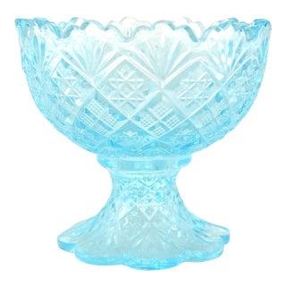 Aqua Pedestal Bowl