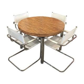 Mid-Century Modern Dining Set - Set of 5