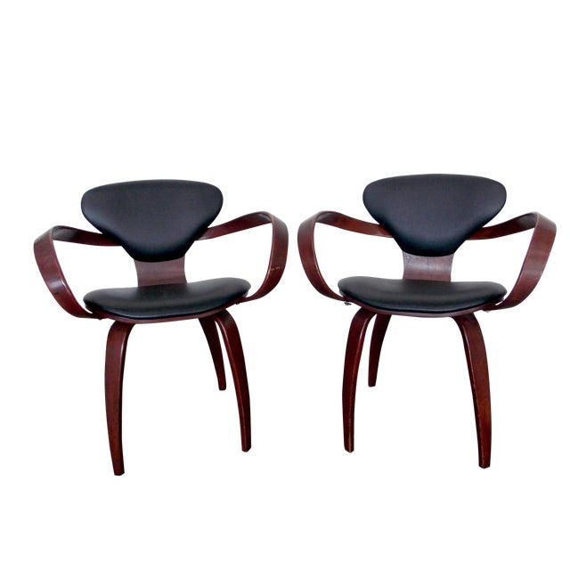 Bentwood Pretzel Arm Chairs - A Pair - Image 1 of 10