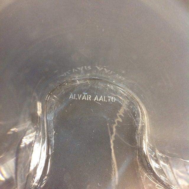 Signed Alvar Aalto Crystal Savoy Vase - Image 7 of 7