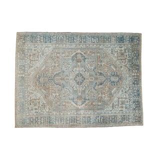 "Persian Distressed Karaja Carpet - 10' X 13'3"""