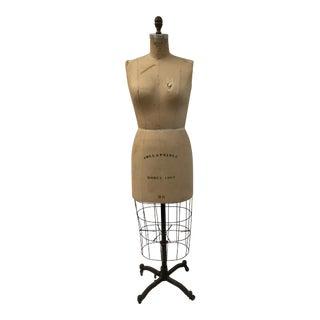 Vintage Wolf Dressmaker's Mannequin