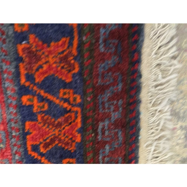 """Vintage Red Persian Rug - 1'11"""" x 2'4"""" - Image 9 of 9"""