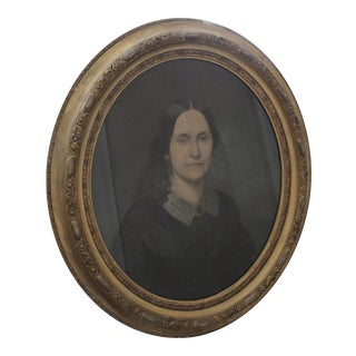 1858 Pastel Portrait of a Lady