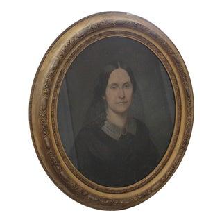 1858 Pastel Portrait of a Lady