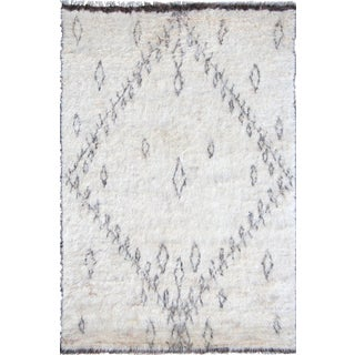 """Moroccan Hand-Knottedl Area Rug - 7'10"""" X 10'1"""""""