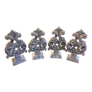 Aged Finials - Set of 4