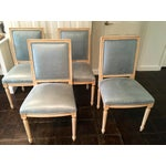 Image of Louis Style Square Back Dining Chairs - Set of 4