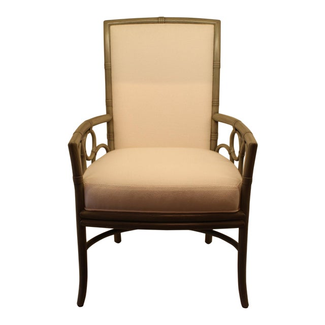 Image of McGuire Laura Kirar Upholstered Arm Chair