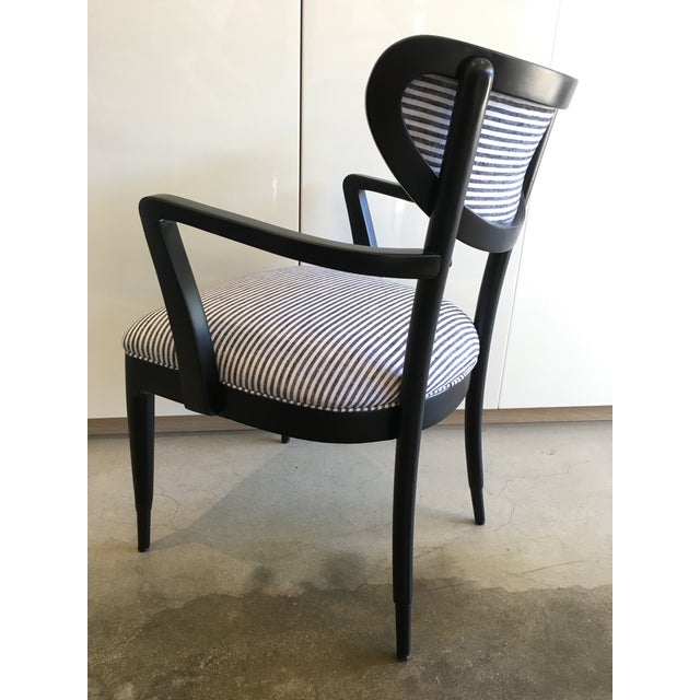 Mid-Century Crescent Back Dining Chairs - Set of 4 - Image 8 of 10