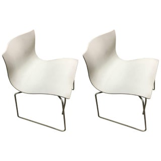 Knoll Vintage Handkerchief Chairs - A Pair