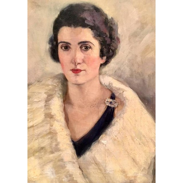 Early 20th Century Original Oil Painting Female Portrait -Framed & Signed By, H. Pink - Image 3 of 10