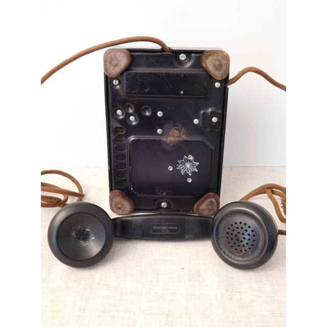 Image of Bakelite Rotary Phone, Western Electric, 1940s Era