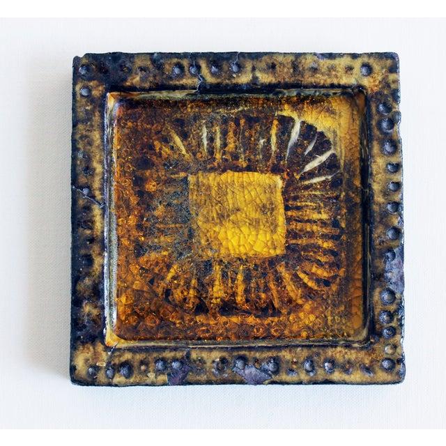 Vintage Ceramic Tile, Mario Ferreira Da Silva - Image 2 of 5
