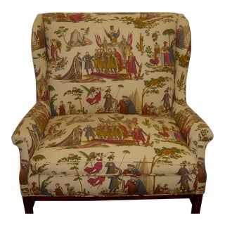 Charming upholstered Settee