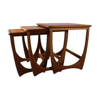 Mid Century Coffee Nesting Table Set By G Plan