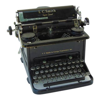 1938 Lc Smith and Corona Super Speed Typewriter