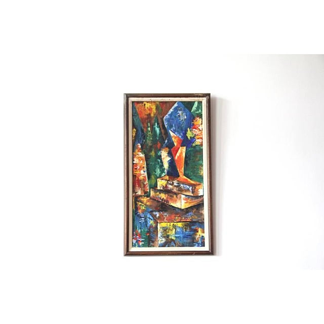 Image of 1960s Modern Abstract Still Life
