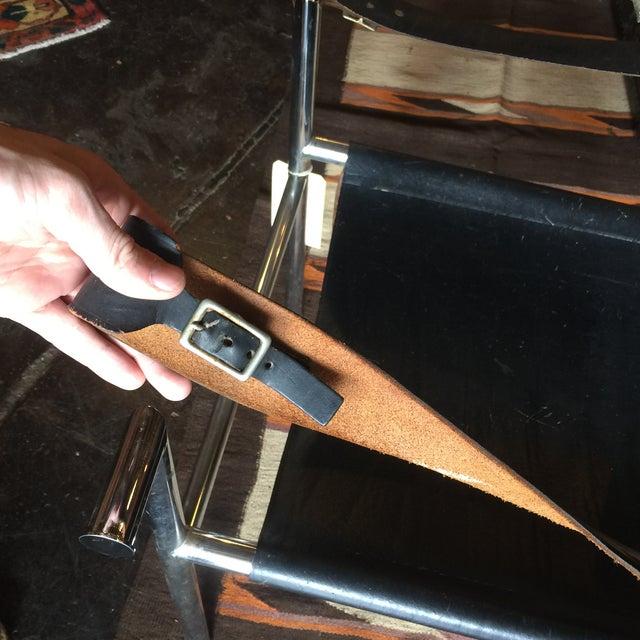 Mid Century Safari Leather Chair - Image 6 of 11