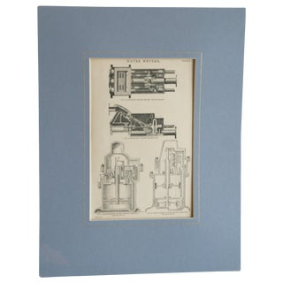 Antique Industrial Era Print