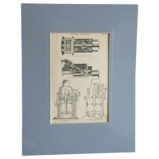 Antique Industrial Era Print