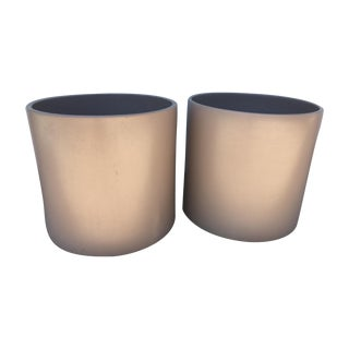 Extra Large Gainey Taupe Pot - Pair