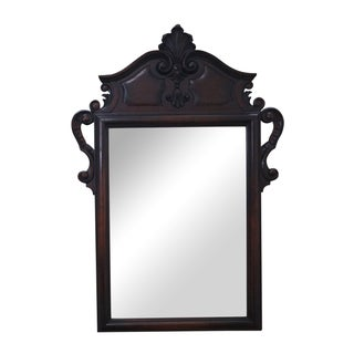 Kittinger Antique Carved Walnut Frame Mirror