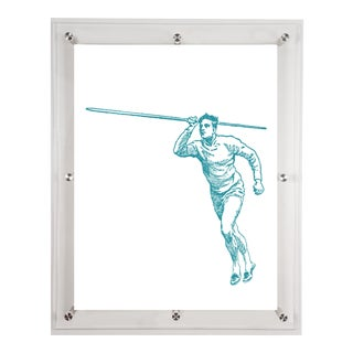 Mitchell Black Home Javelin Art