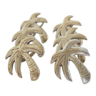 Palm Tree Napkin Ring - Set of 6