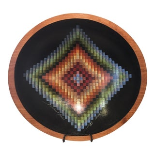 Sunshine & Shadow Quilt Pattern Bowl