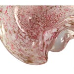 Image of Large Vintage Pink Murano Dish